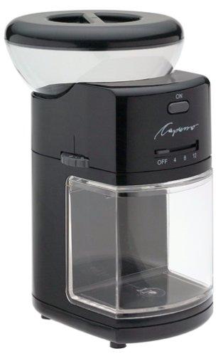 Coffee Consumers Capresso 551 01 Burr Coffee Grinder Black