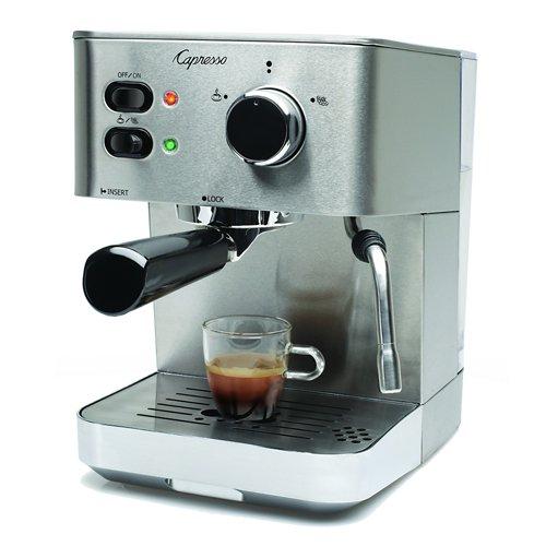 capresso 118 05 ec pro espresso and cappuccino machine