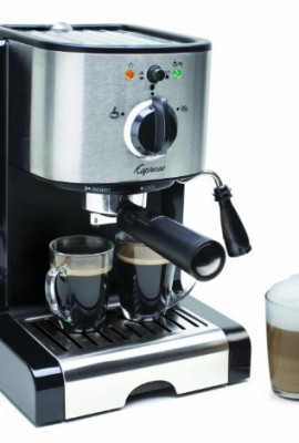 Capresso-EC100-Semi-Automatic-Pump-Espresso-and-Cappuccino-Machine-Refurbished-0