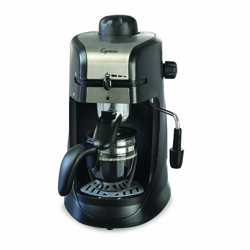 Steam Press Coffee Maker : Coffee Consumers Capresso Steam Pro 4-Cup Espresso & Cappuccino Machine