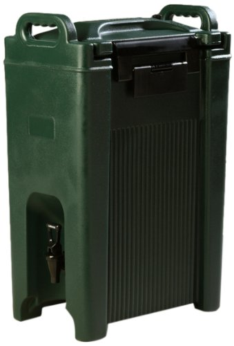 Carlisle-XT500008-Cateraide-Polyurethane-Beverage-Server-5-Gallon-Capacity-25-34-Height-Forest-Green-0