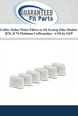 Coffee-Maker-Water-Filters-to-Fit-Keurig-Elite-Models-B70-B-70-Platinum-Coffeemaker-6-Pk-by-GFP-0