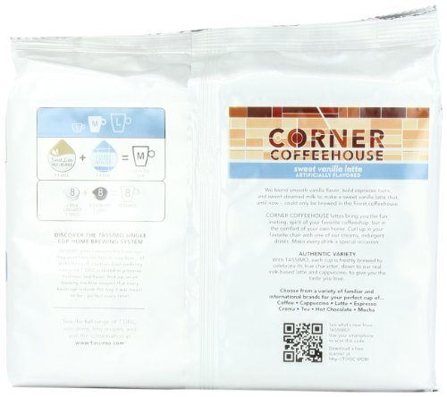 Corner-Coffeehouse-Sweet-Vanilla-Latte-T-DISC-16-Count-8-Servings-for-the-TASSIMO-Single-Cup-Brewer-0-3