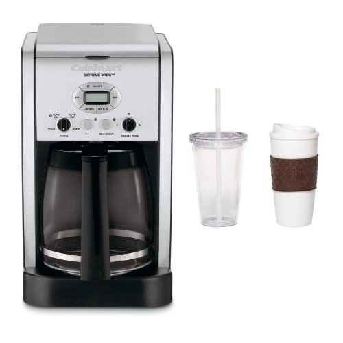 Coffee Consumers Cuisinart DCC-2650 Extreme Brew 12-Cup Programmable Coffeemaker + 2-Pack ...