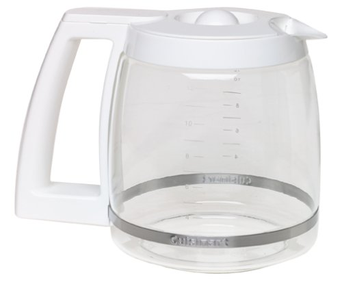 Coffee Consumers Cuisinart DGB-500WRC 12-Cup Replacement Coffee Carafe, White