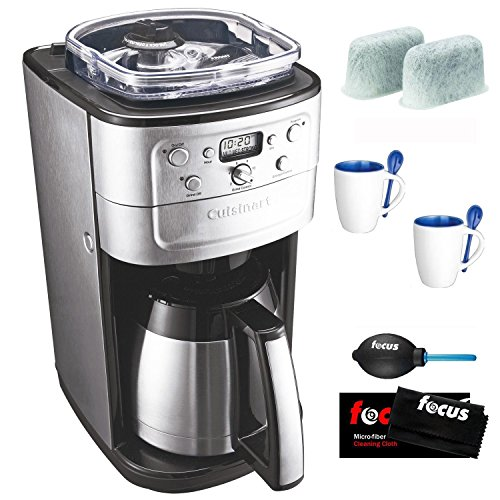 Coffee Consumers Cuisinart DGB-900BC Grind & Brew Thermal 12-Cup Automatic Coffeemaker Bundle