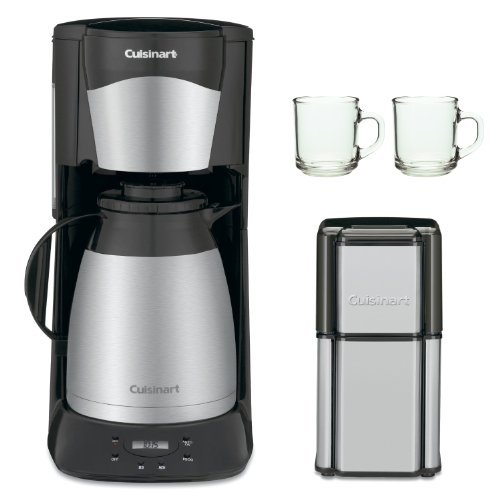 Coffee Consumers Cuisinart DTC975BKN 12 Cup Programable Thermal Coffeemaker Black (New) with ...