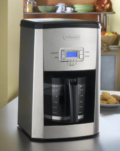 Delonghi Coffee Maker Dc514t : Coffee Consumers DeLonghi DC514T 14-Cup Programmable Drip Coffeemaker