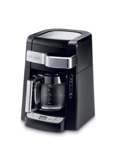 Delonghi Coffee Maker Carafe Replacement : Coffee Consumers DeLonghi DCF2212T 12-Cup Glass Carafe Drip Coffee Maker, Black