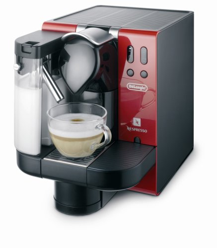 coffee consumers delonghi en660 r nespresso lattissima single serve espresso maker red. Black Bedroom Furniture Sets. Home Design Ideas