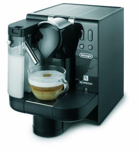 Single Cup Coffee Maker Nespresso : Coffee Consumers DeLonghi EN670.B Nespresso Lattissima Single-Serve Espresso Maker, Black