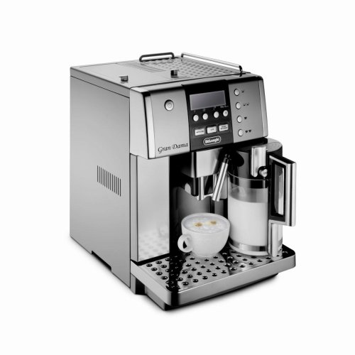 coffee consumers delonghi esam6600 gran dama digital super automatic espresso machine. Black Bedroom Furniture Sets. Home Design Ideas