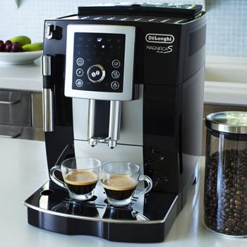coffee consumers delonghi compact automatic espresso machine fully automatic coffee machine. Black Bedroom Furniture Sets. Home Design Ideas