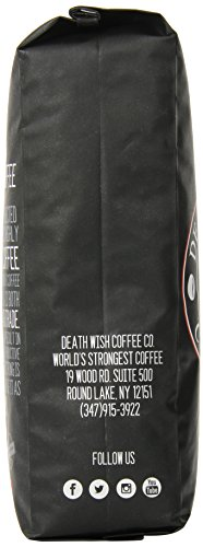 Coffee Consumers Death Wish Whole Bean Coffee The World