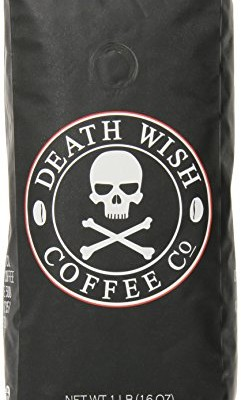 Death-Wish-Coffee-The-Worlds-Strongest-Coffee-Fair-Trade-Organic-Whole-Bean-16-Ounce-Bag-0