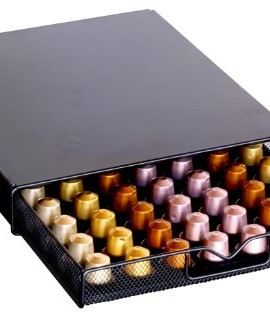 DecoBros-Coffee-Pod-Storage-Mesh-Nespresso-Drawer-holder-for-56-Capsules-Black-0