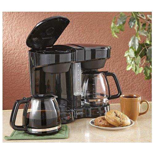 Dual Filter Coffee Maker : Coffee Consumers Dual Coffee Maker Black