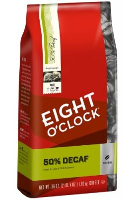 Eight-OClock-50-Decaf-Whole-Bean-Coffee-36-Ounce-0