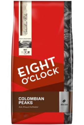 Eight-OClock-Colombian-Peaks-Whole-Bean-Coffee-40-Ounce-Package-0