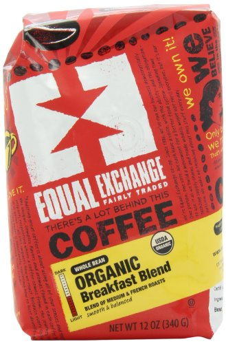 Equal-Exchange-Organic-Coffee-Breakfast-Blend-Whole-Bean-12-Ounce-Bag-0