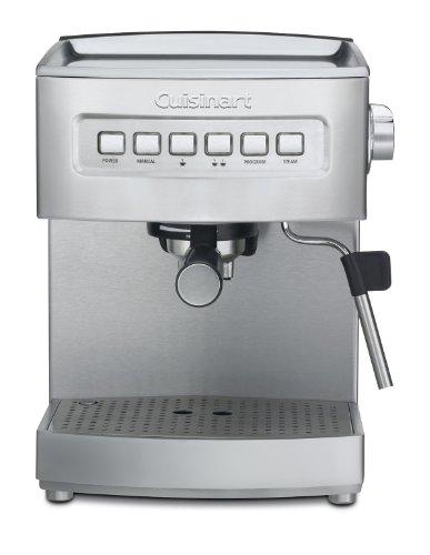 Em Press Coffee Maker Stainless Steel : Coffee Consumers Cuisinart EM-200FR Programmable 15-Bar Espresso Maker (Certified Refurbished ...