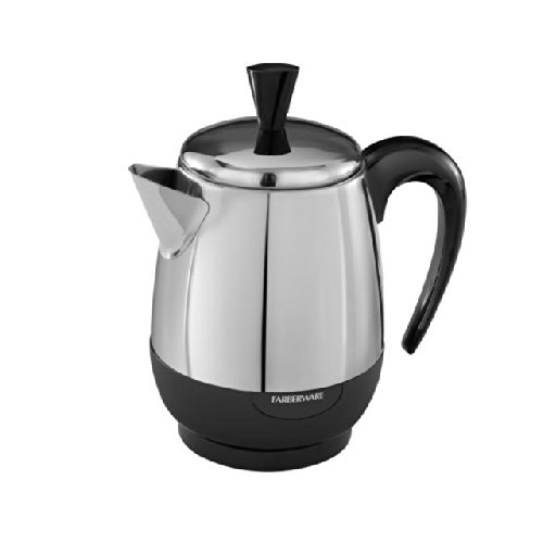 Coffee Consumers Farberware FCP240 2-4-Cup Percolator, Stainless Steel