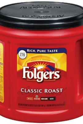 Folgers-Classic-Roast-Coffee-339-Ounce-Pack-of-6-0