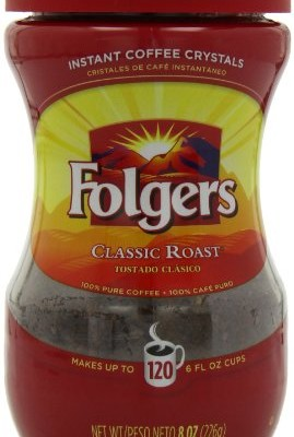 Folgers-Classic-Roast-Instant-Coffee-8-Ounce-Pack-of-3-0