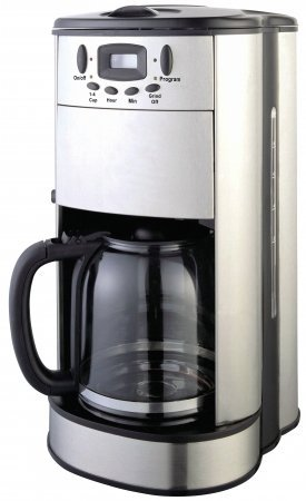 Coffee Consumers Frigidaire FD7188 12-Cup Stainless Steel Programmable Coffee Maker with ...