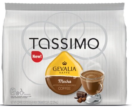 coffee consumers gevalia tassimo gevalia mocha coffee t discs. Black Bedroom Furniture Sets. Home Design Ideas