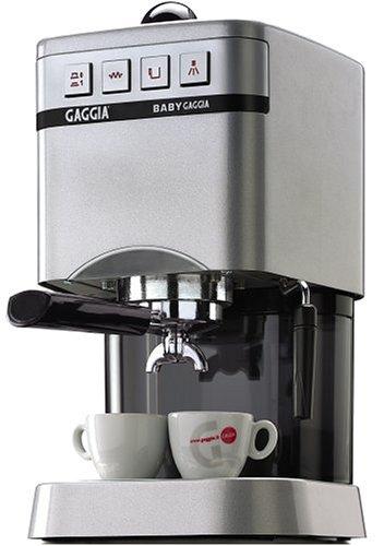 Gaggia Coffee Maker Espresso Baby Dose Silver : Coffee Consumers Gaggia 11202 Baby Espresso Machine, Silver