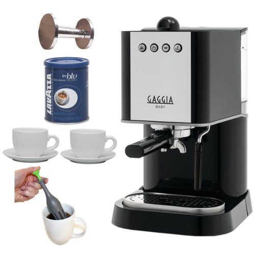 Gaggia Baby Coffee Maker Review : Coffee Consumers Gaggia 12101 New Baby Espresso Machines + Espresso Tamper 50-60mm Sizes Cast ...