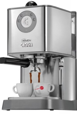 Gaggia-12500-Baby-Twin-Espresso-Machine-with-Dual-Heating-System-Stainless-Steel-0