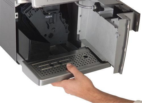 coffee consumers gaggia 90505 titanium plus super automatic espresso machine silver. Black Bedroom Furniture Sets. Home Design Ideas