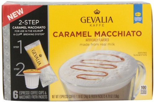 Gevalia-2-Step-K-Cup-Froth-Packets-6-Count-56oz-Box-Pack-of-3-Caramel-Macchiato-0