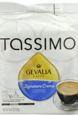 Gevalia-Signature-Crema-Coffee-Medium-16-Count-T-Discs-for-Tassimo-Coffeemakers-Pack-of-2-0