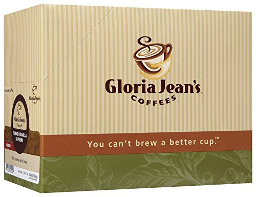 Gloria-Jeans-Coffees-French-Vanilla-Supreme-K-Cup-Portion-Pack-for-Keurig-Brewers-24-Count-0-0