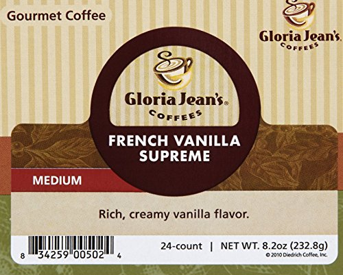 Gloria-Jeans-Coffees-French-Vanilla-Supreme-K-Cup-Portion-Pack-for-Keurig-Brewers-24-Count-0-1