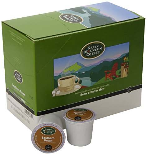 serve k cups green mountain coffee southern pecan light roast k cup. Black Bedroom Furniture Sets. Home Design Ideas