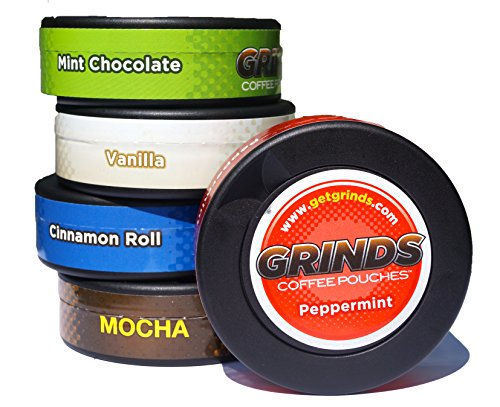 Grinds-Coffee-Pouches-w-2-NEW-FLAVORS-Sampler-5-Cans-0