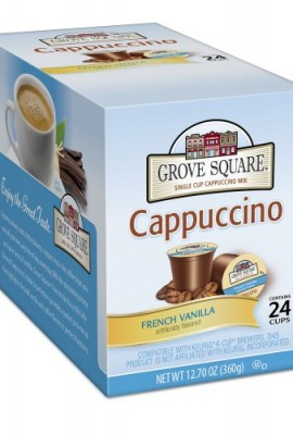Grove-Square-Cappuccino-French-Vanilla-24-Count-Single-Serve-Cup-for-Keurig-K-Cup-Brewers-0