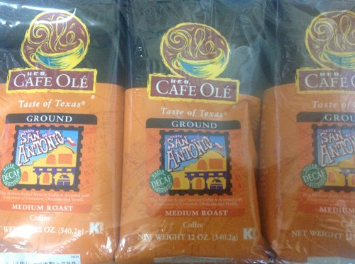 Coffee Consumers Heb Cafe Ole Ground Coffee 12oz Decaf
