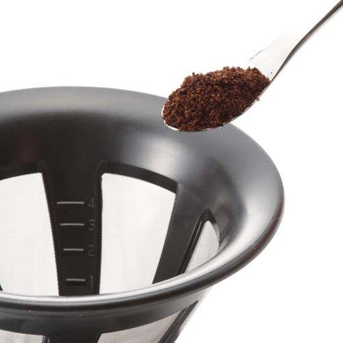 Hario-Paperless-Coffee-Dripper-Black-Stainless-Steel-Filter-CFOD-02-0-0
