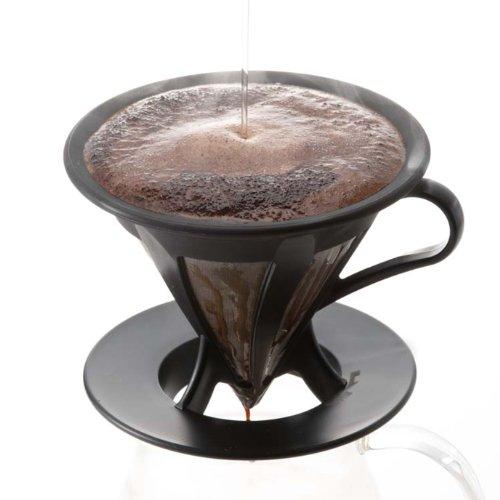 Hario-Paperless-Coffee-Dripper-Black-Stainless-Steel-Filter-CFOD-02-0-2