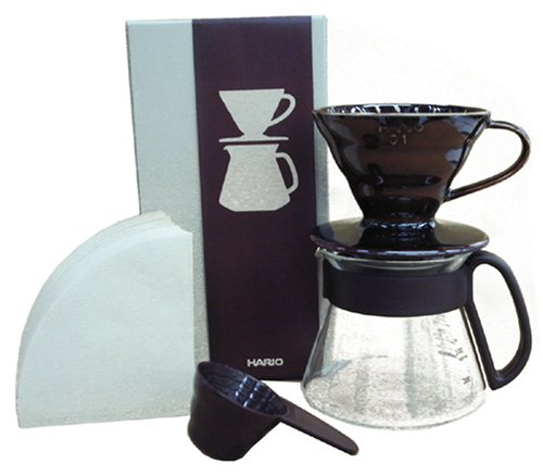 Hario-V60-Color-Coffee-Dripper-and-Pot-Brown-0
