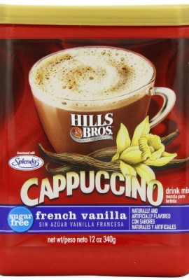 Hills-Bros-Cappuccino-Sugar-Free-French-Vanilla-12-Ounce-0