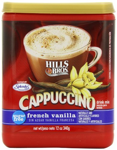 Coffee Consumers | Hills Bros Cappuccino Sugar-Free French ...