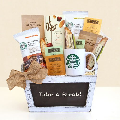 Its-Break-Time-Starbucks-Gourmet-Coffee-Gift-Basket-Great-Gift-Basket-for-the-Coffee-Lover-0