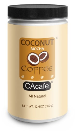 Coffee Consumers Jar of Coconut Mocha Coffee