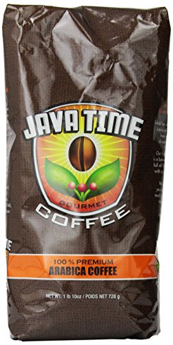 Coffee Consumers Java Time Gourmet Coffee 26 Ounce